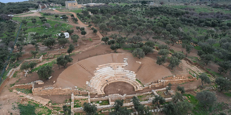 Restoration of the ancient theatre of Aptera ba79ae24702